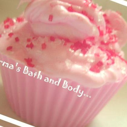 cotton candy cupcake soap, cupcake ..