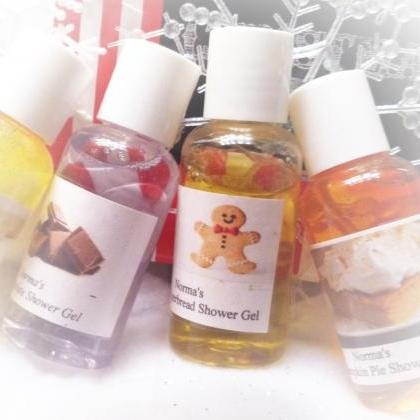 Shower gels. set of 4, bath gels, g..
