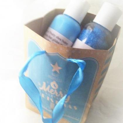 sea breeze bath and body gift set, ..