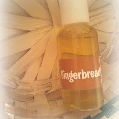 Gingerbread bath and body shower ge..