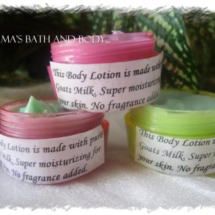 trial size lotions. set of 3