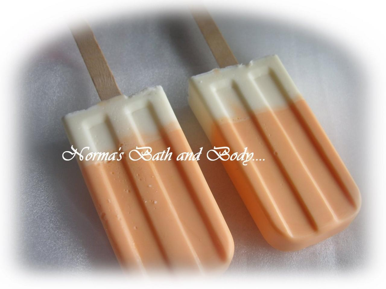 orange sherbet soap sickle
