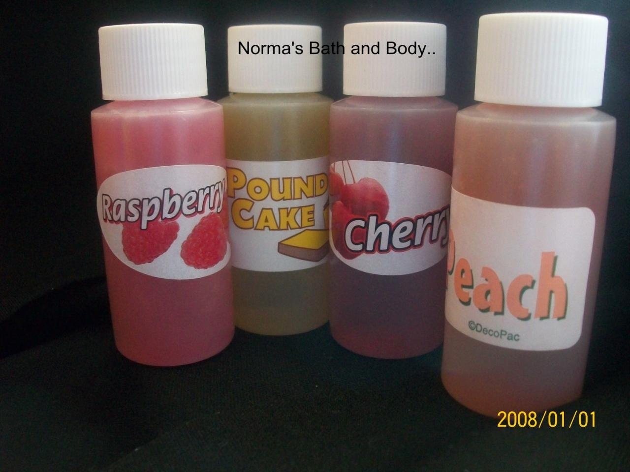 trial size shower gels. set of 4 you choose, trial size gels, bath gels, bath and body, beauty, gifts, shower gels