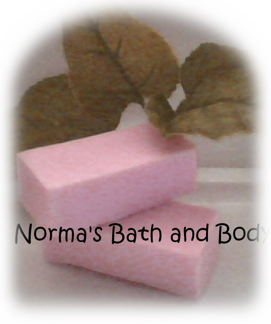 raspberry trial size goats milk soap sample