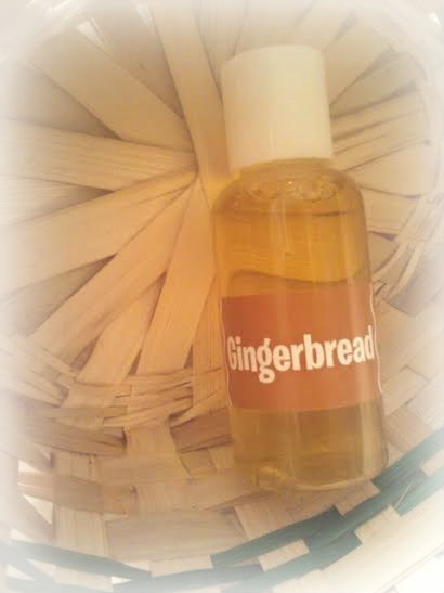 Gingerbread bath and body shower gel