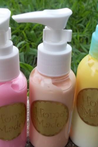 shea butter body lotions. set of 3