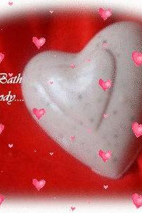 valentines chocolate heart soap