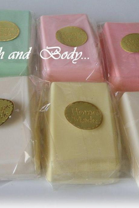 Goats Milk Glycerin Soaps- Wholesale lot of 50- Wholesale- Handmade Soap- Glycerin soap- Soap