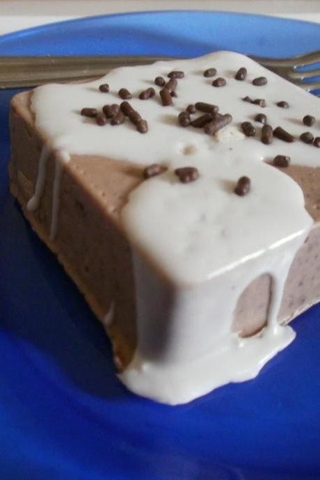 brownie cake soap