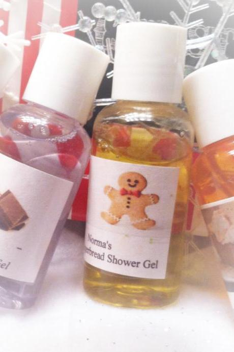 Shower gels. set of 4, bath gels, gels, gifts, gift sets, bath, shower, beauty, normas