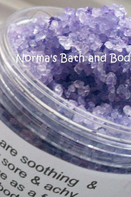 vanilla and lavender bath salts