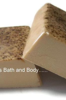 yummy hazelnut goats milk soap