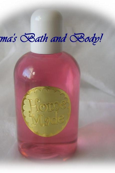 peppermint bath shower gel