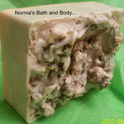chocolate and cinnamon soap