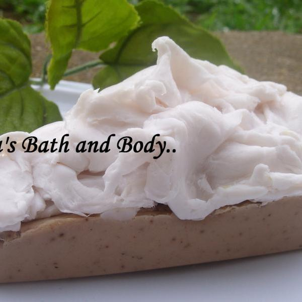 vanilla and chocolate pie soap