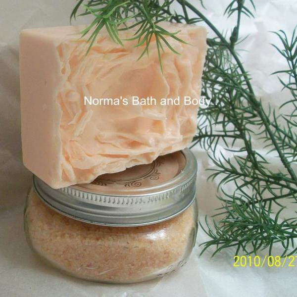 pumpkin pie bath and body gift set. pumpkin pie soap and soap