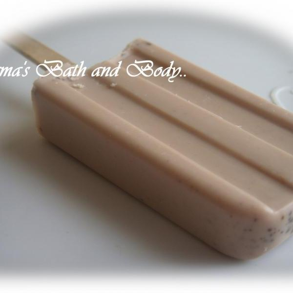 chocolate soap sickles. wholesale lot of 50