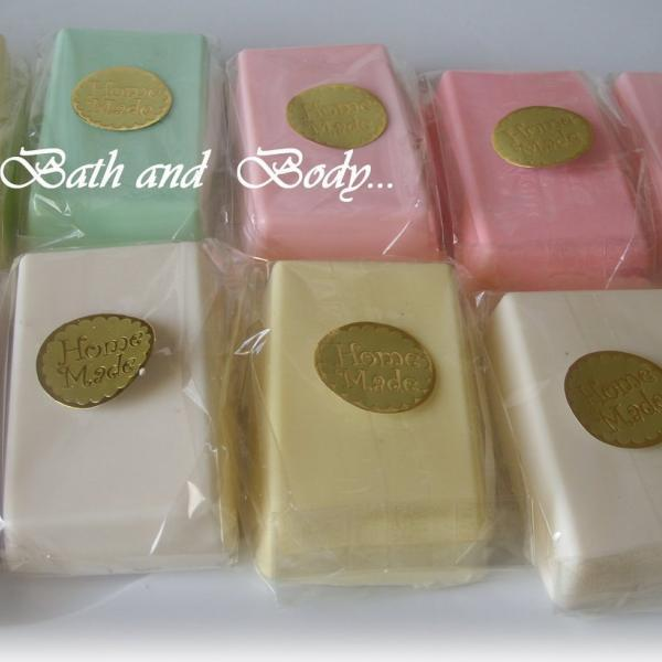 goats milk fruity glycerin soaps. set of 10