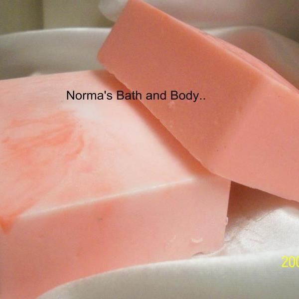 peppermint and vanilla foot soap